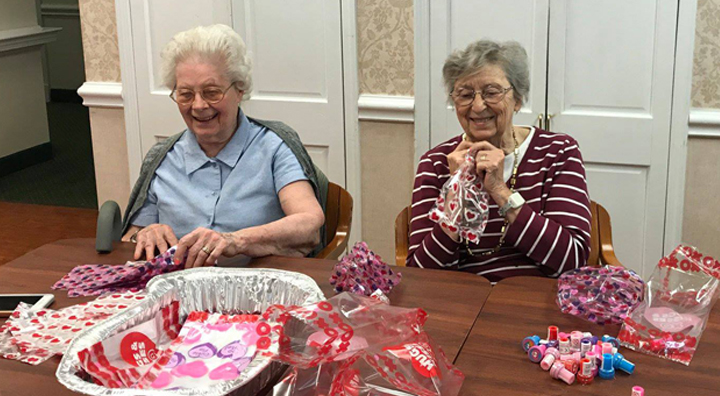 Brandywine Spreads Love to Local Children for Valentine's Day