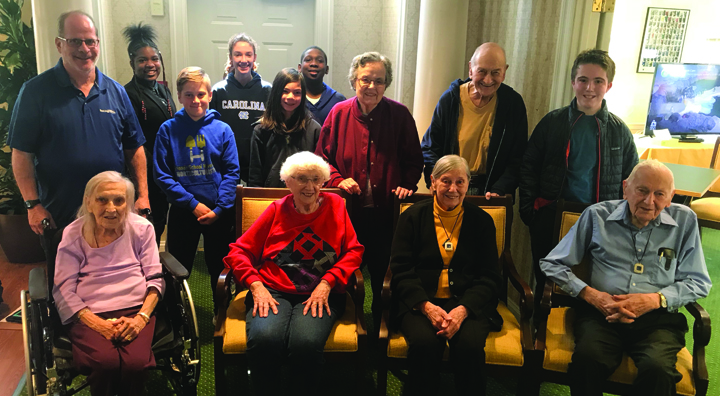 Haverford Students Interview Residents