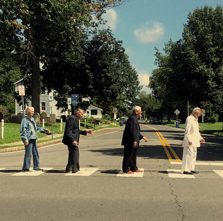 Brandywine Living at Princeton Residents Recreate Abbey Road Cover