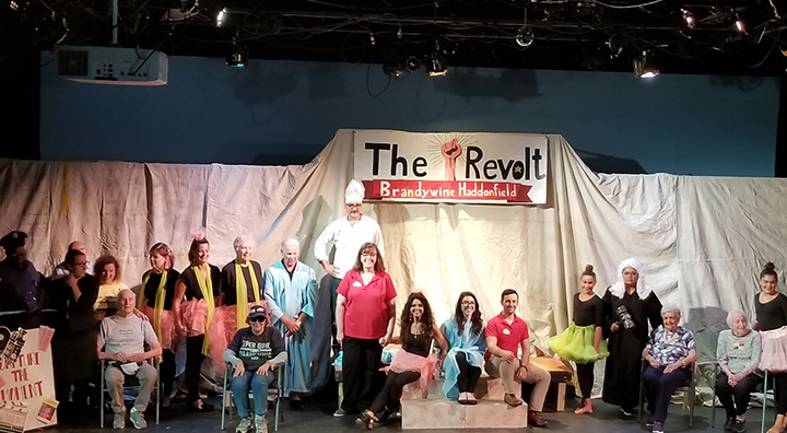 Cast and Crew of The Revolt Pose for Group Photo