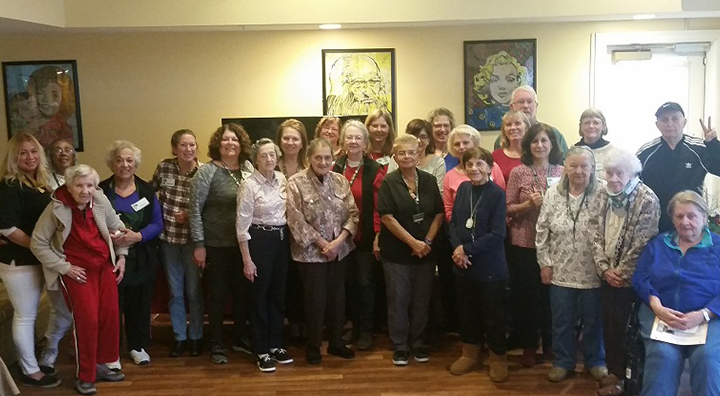 Colts Neck Residents and Rutgers Master Gardener's Club Group Photo