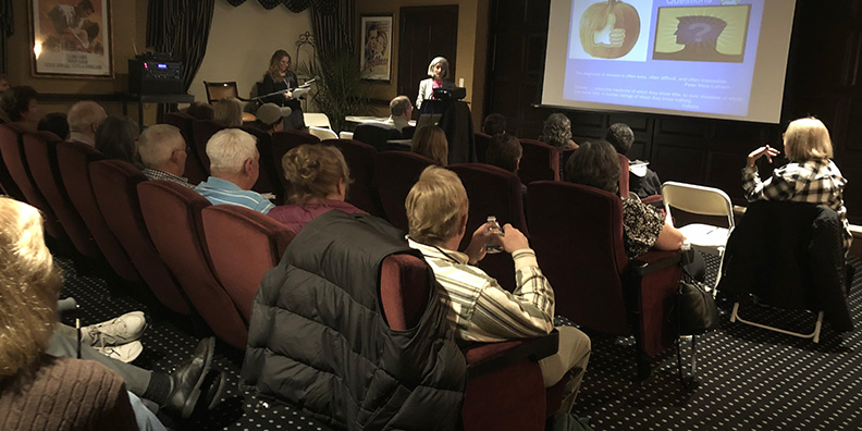Valley Health Experts Present in the Brandywine Living at Mahwah Theater