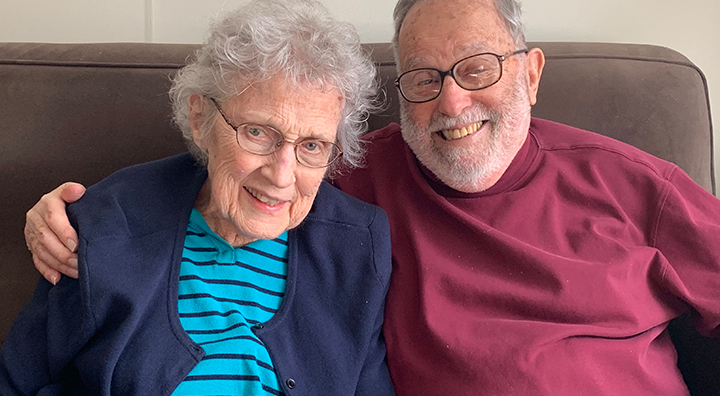 Gabe and Nora Popper Celebrate 60 Years of Marriage