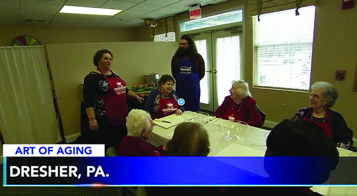 Dresher Estates' Soup Squad on 6 ABC