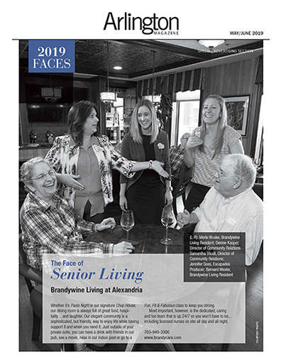 Brandywine Living at Alexandria, VA Featured in Arlington Magazine