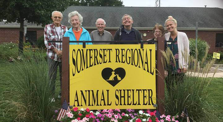 Brandywine Living at Middlebrook Crossing Seniors Outside of Somerset Regional Animal Shelter