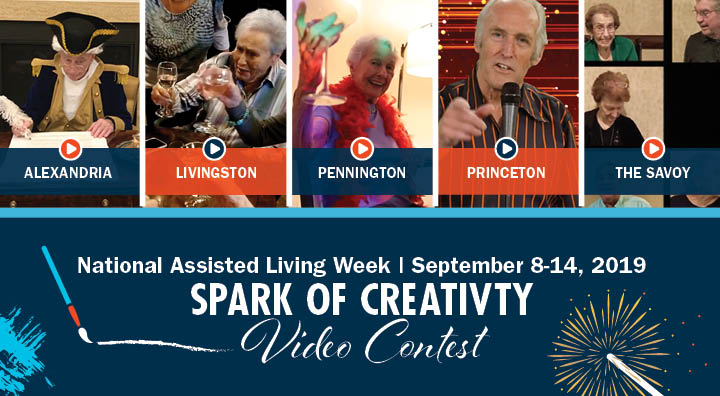 Top Five National Assisted Living Week Finalist: Alexandria, Livingston, Pennington, Princeton & The Savoy