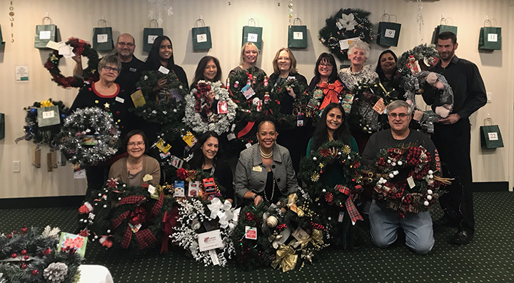Brandywine Living at Princeton host first annual Wreath Stroll